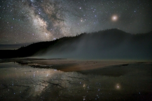 Night over Grand Prismatic