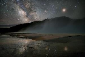 Night over Grand Prismatic